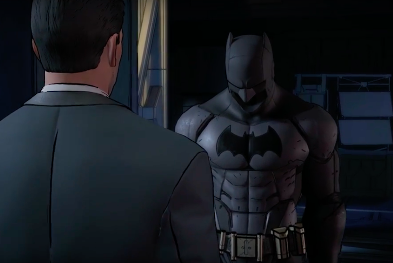 Bruce Wayne batsuit batman the telltale series trailer