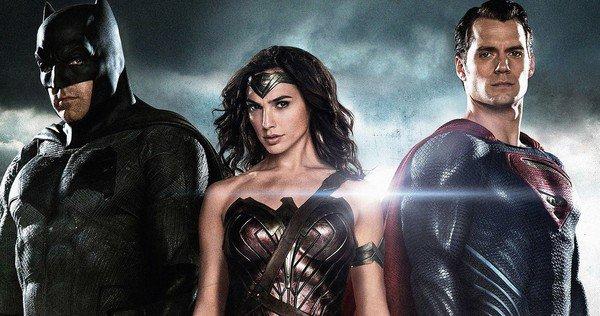 Batman and Superman face off