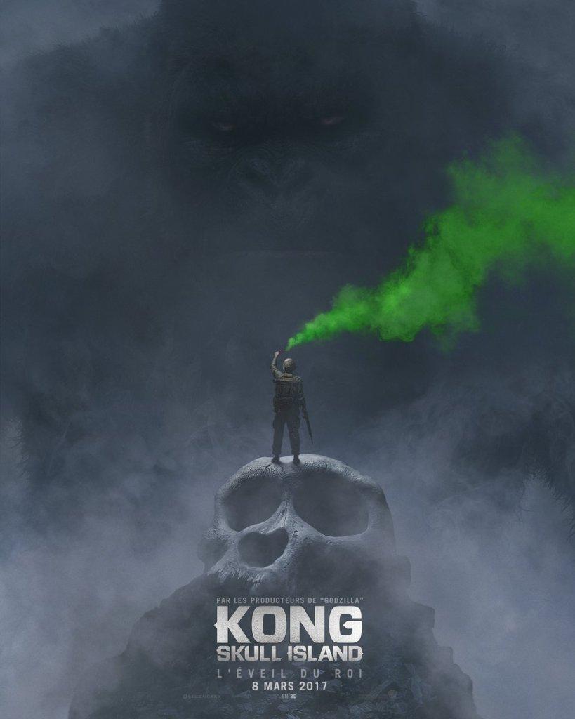 Kong Skull Island teaser poster SDCC