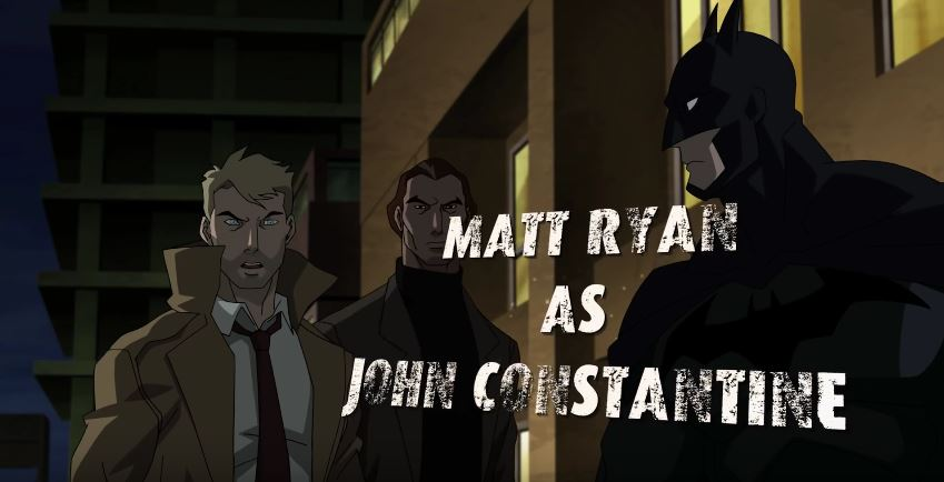 WATCH: Matt Ryan Returns as Constantine in 'Justice League Dark'