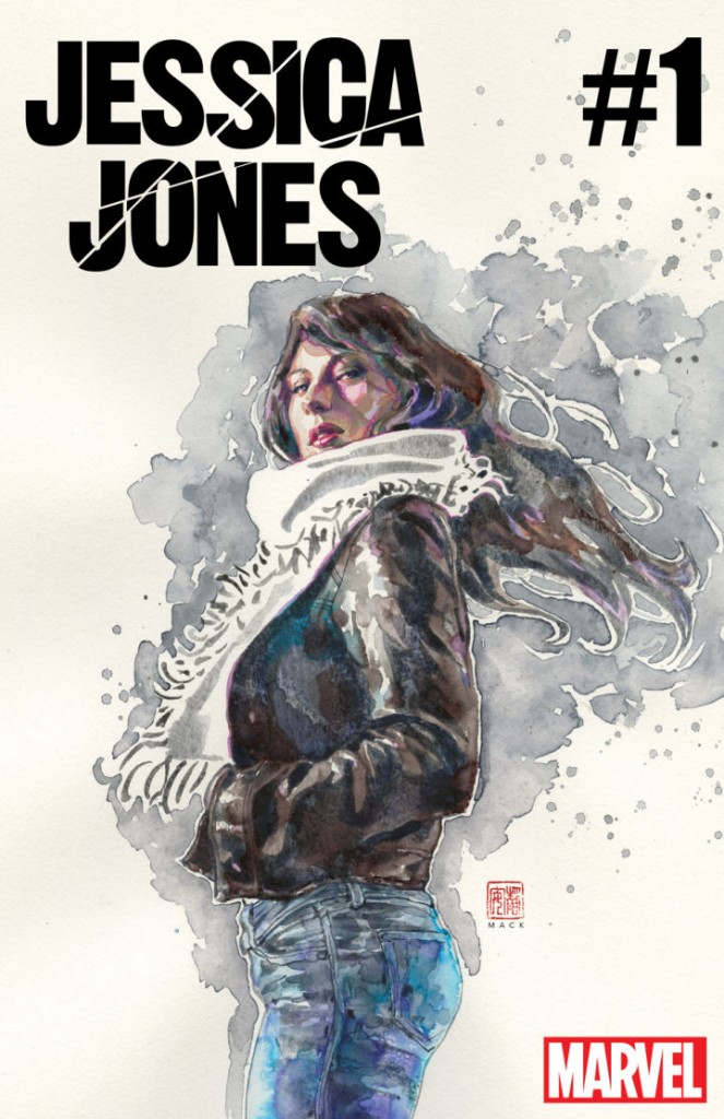 Covef for the first issues of the new Jessica Jones series