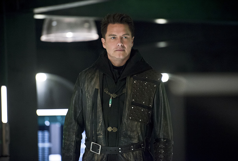 John Barrowman as Malcolm Merlyn - Dark Archer