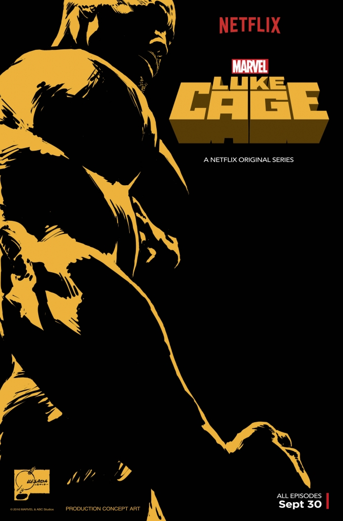 Luke Cage First Netflix Poster san diego comic con