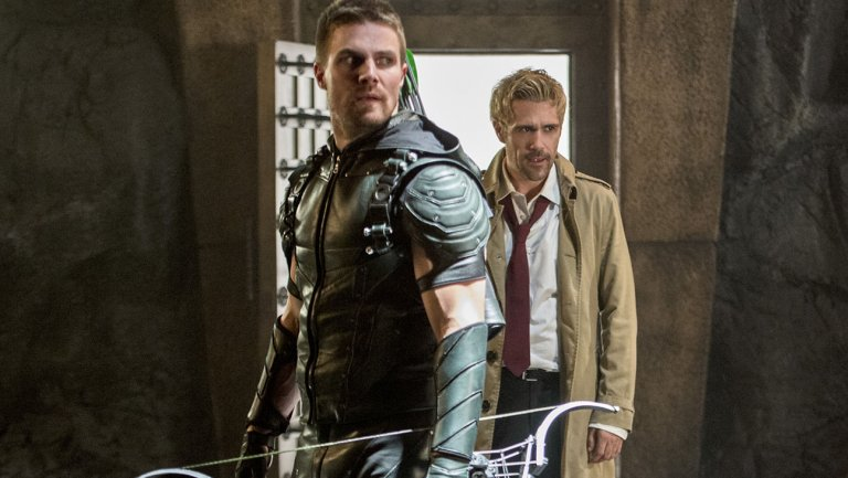 Matt Ryan's John Constantine on Arrow