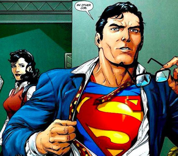 39 supergirl 39 set images show off classic clark kent moment for Kent superman