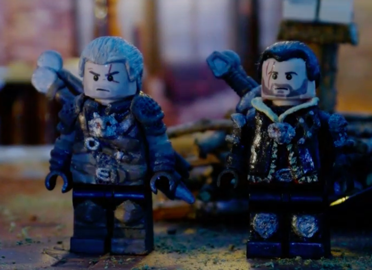 Lego 'The Witcher' Short Sees Geralt on the Path