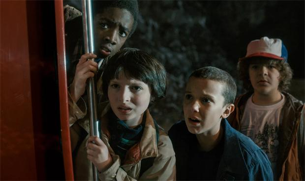 Stranger Things lucas, mike, eleven, dustin