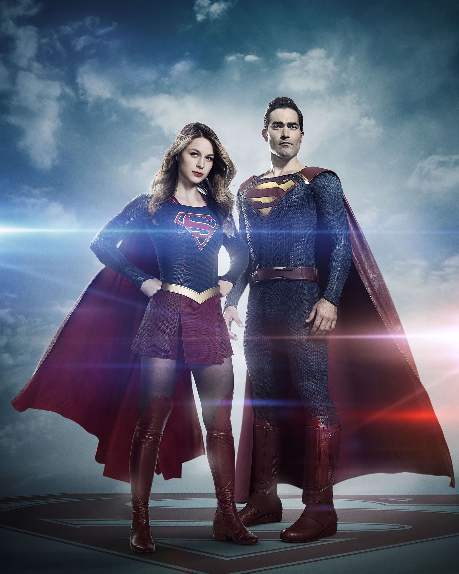 Supergirl and Superman Supergirl Season 2 The CW