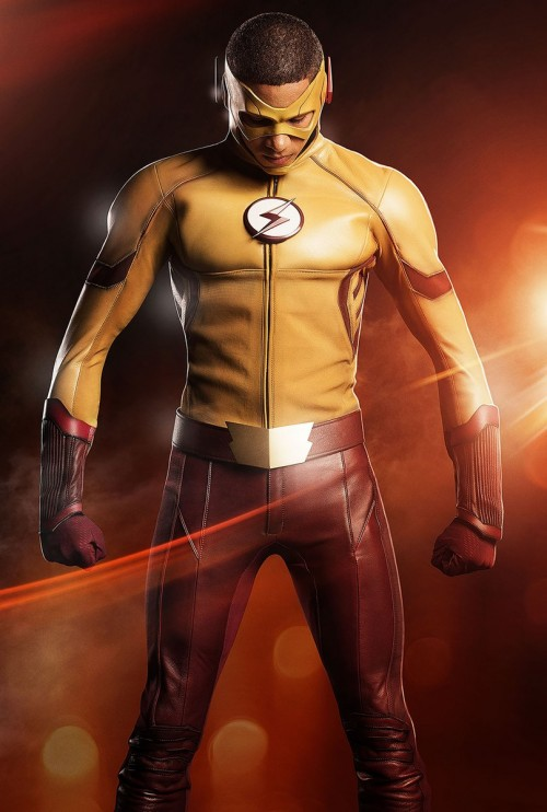 The Flash's Wally West as Kid Flash