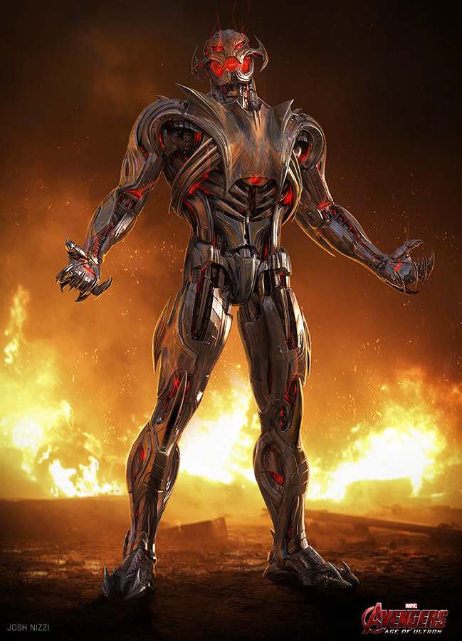 Unused 'Avengers: Age of Ultron' concept art