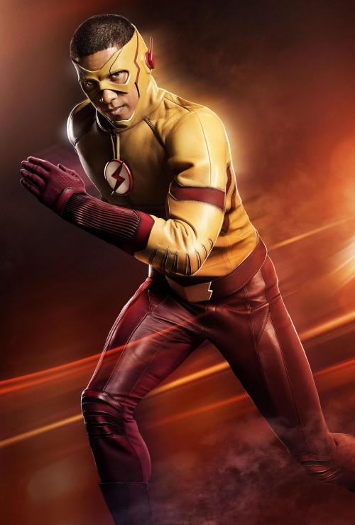 Wally West as Kid Flash on The Flash