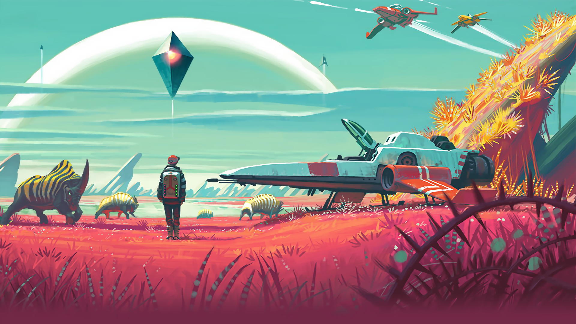 'No Man's Sky' is Only 6GB on Disc