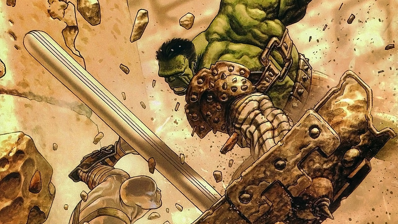 SDCC: Props From 'Thor Ragnarok' Confirm Planet Hulk Connection
