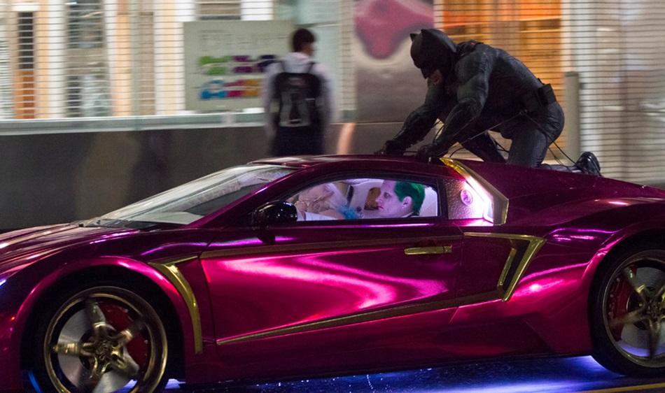 WATCH: Batman Chases Joker and Harley in New 'Suicide Squad' Clip
