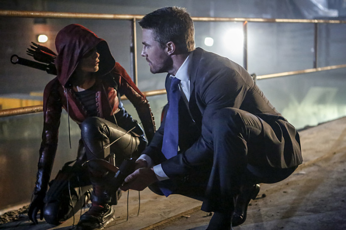 Arrow Season 5 Speedy and Ollie