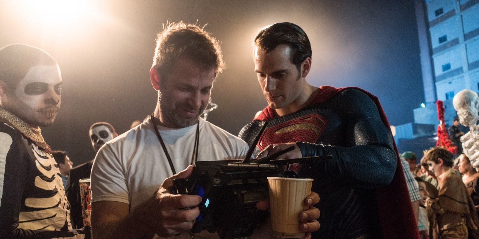 Watch Zack Snyder Skateboarding on Man of Steel Set