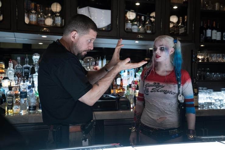 David Ayer Harley Quinn Suicide Squad set
