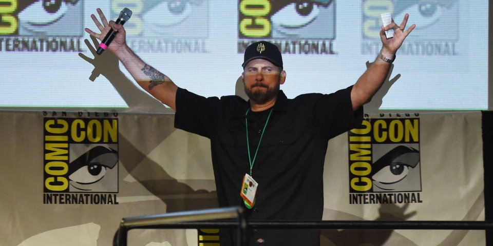 David Ayer comic con for Suicide Squad
