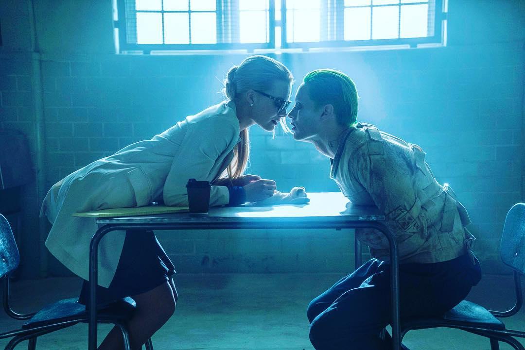 Dr. Harleen Quinzel and Joker in Arkham Suicide Squad