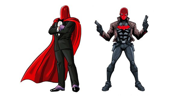 Joker Red Hood Jason Todd Red Hood