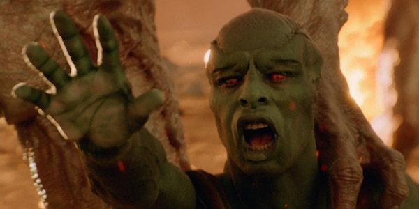 Martian Manhunter losing his family on Mars