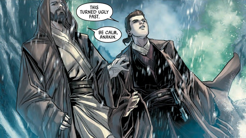 obi-wan and anakin comic-book, obi-wan and anakin miniseries