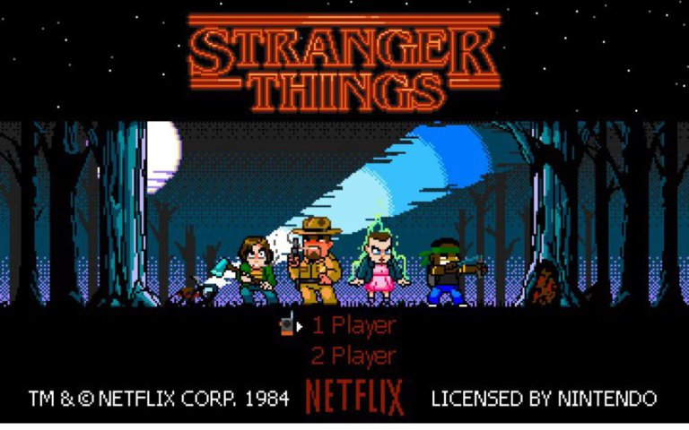 Stranger Things 8-bit art Bannon rudis
