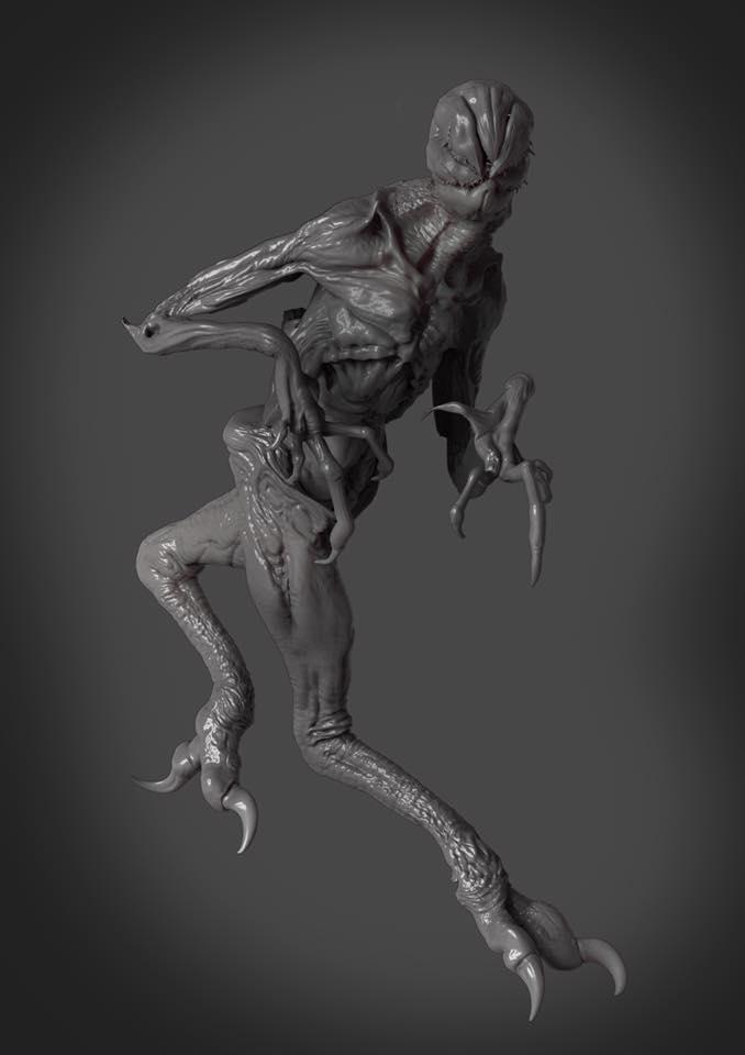 Stranger Things Creature 3