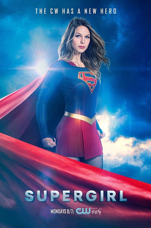 Supergirl The CW New Hero Poster