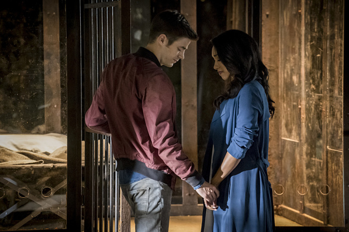 The Flash Season 3 iris and barry