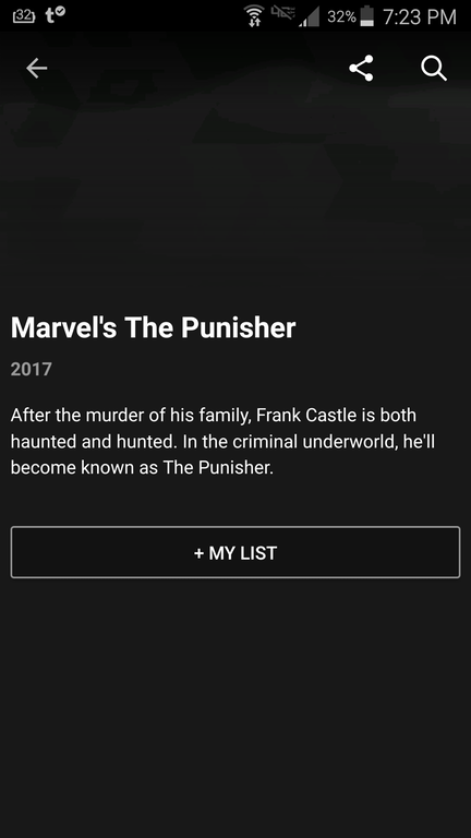 the punisher release date netflix app