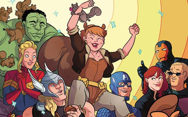 Squirrel Girl and The New Warriors to Star in New Marvel TV Show?