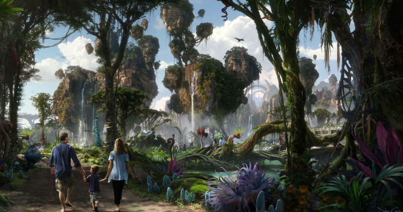 James Cameron & Disney to Open 'Avatar' Theme Park in 2017