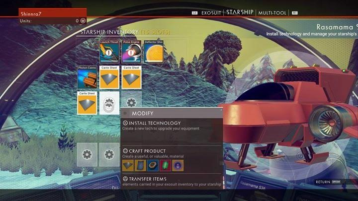 no mans sky crafting, no mans sky upgrades, no mans sky review