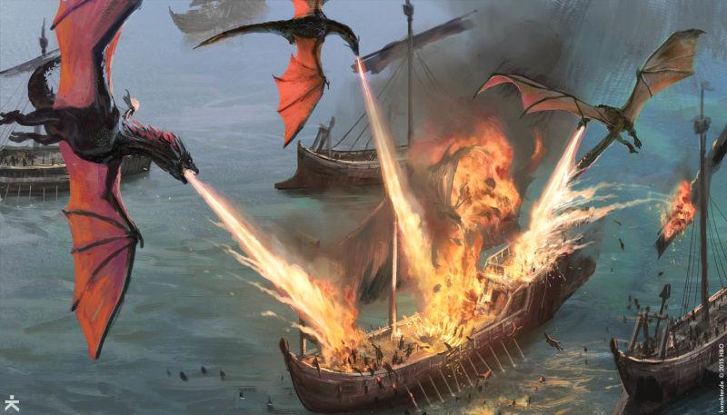 game of thrones, got, hbo, white walkers, dragons, fantasy, artwork, karakter, designs daenerys, targaryen