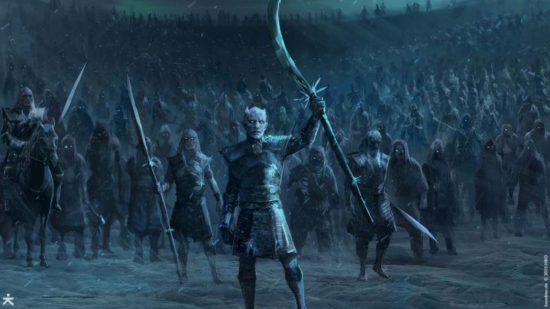 game of thrones, got, hbo, white walkers, dragons, fantasy, artwork, karakter, designs