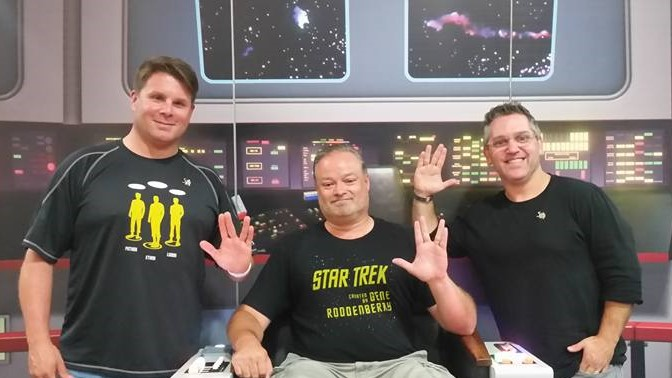 Star Trek Executive Producers Share the Captain's Chair Photo Credit: John Kirk