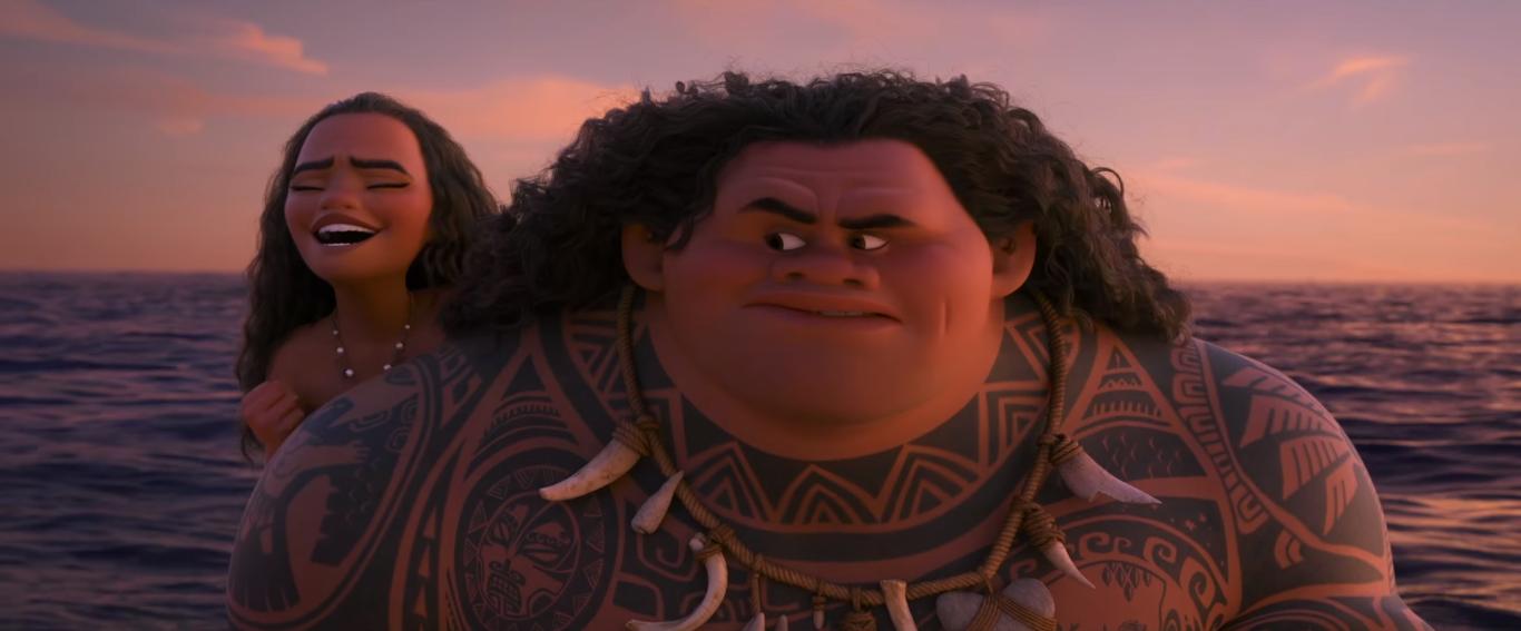 Disney's 'Moana' Gets an Olympic Trailer