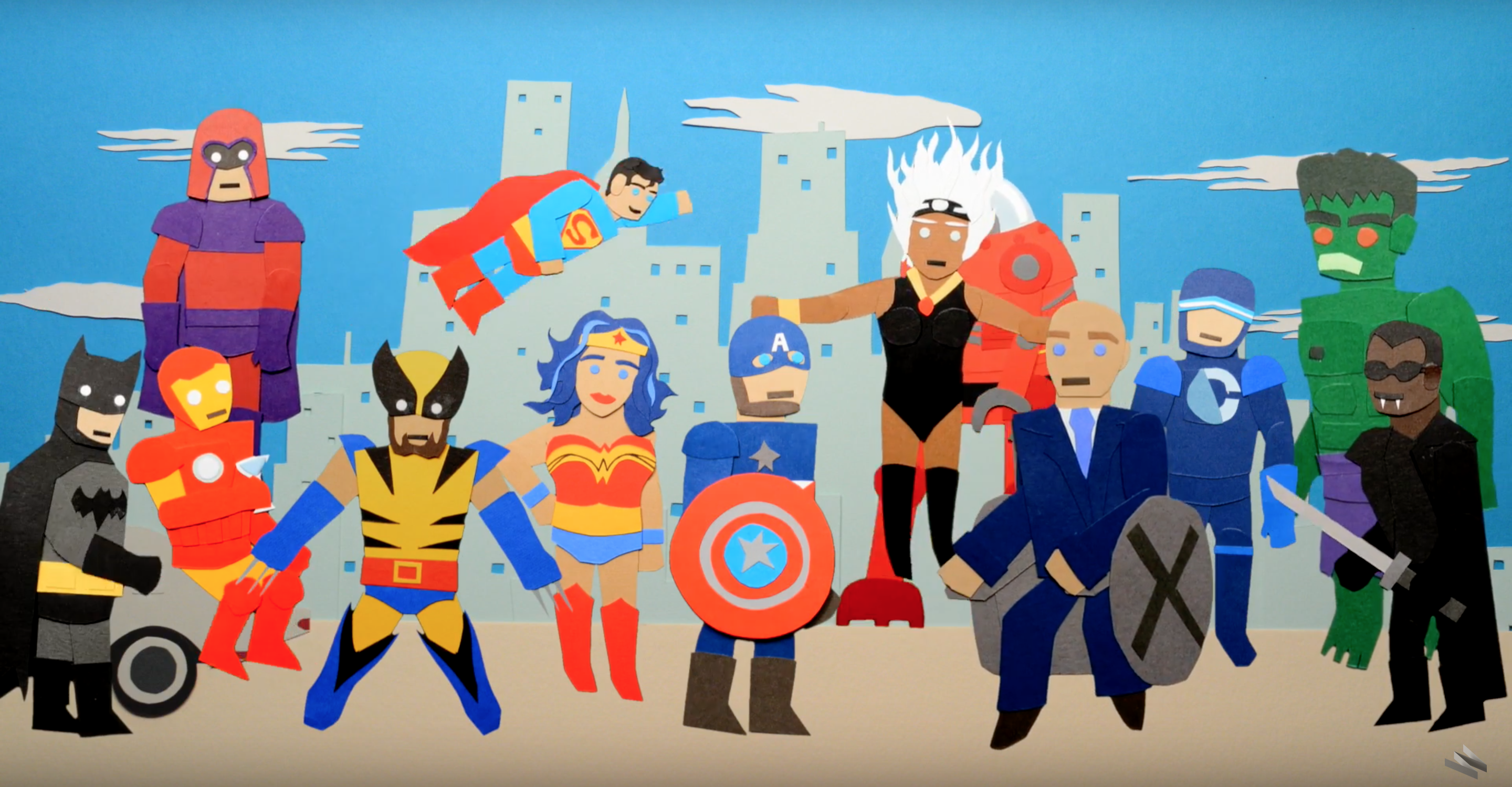 WATCH: History of Superhero Movies at the Box Office