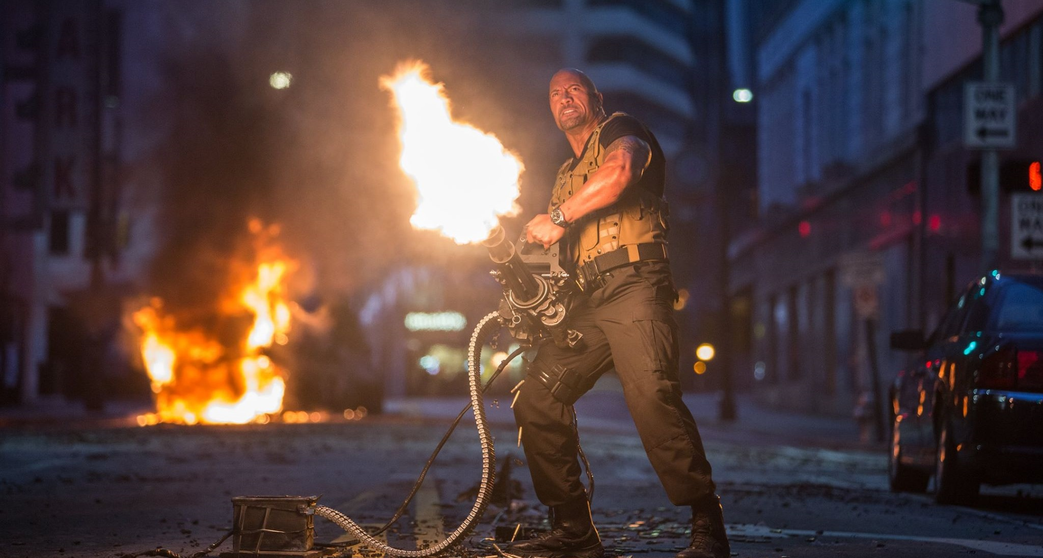 Dwayne Johnson Calls Out Male Co-Star of 'Fast 8'