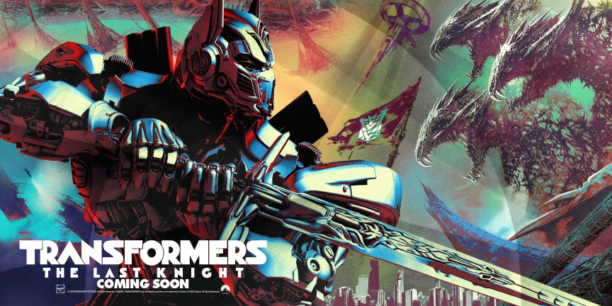 Official 'Transformers: The Last Knight' Art Revealed