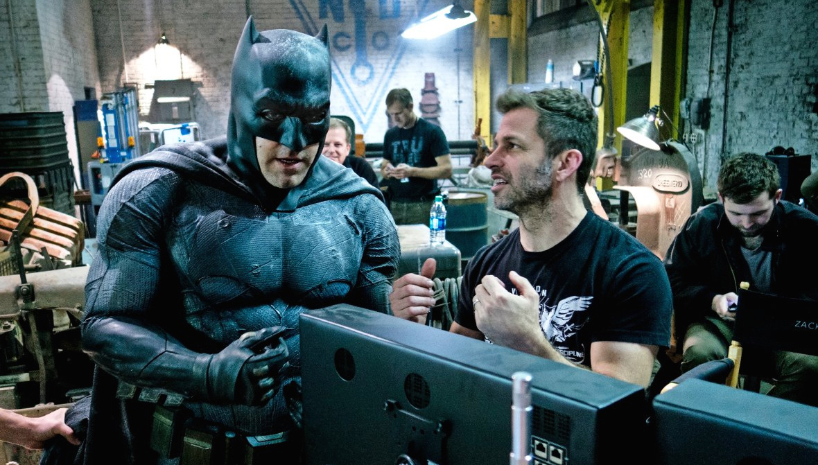 Zack Snyder was esentially the head of DC Films