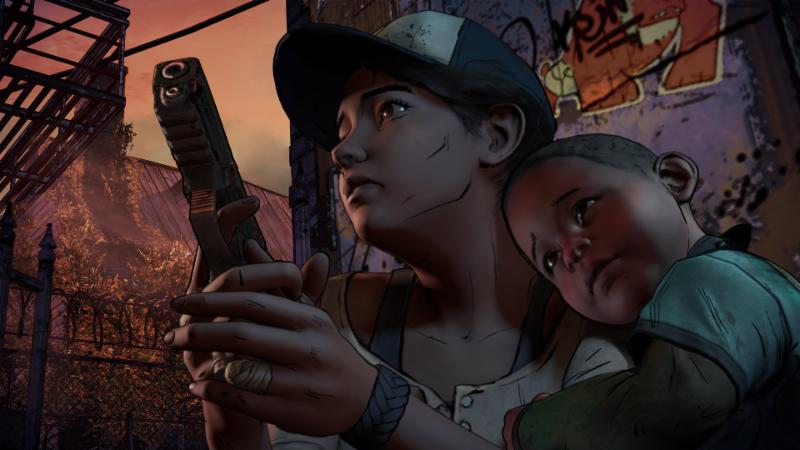 Clementine The Walking Dead Season 3 a new frontier