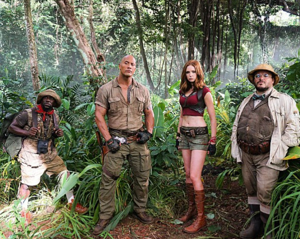 Here's Our First Look at the 'Jumanji' Reboot