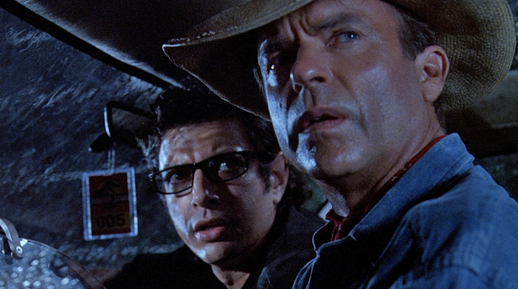 Watch Sam Neill and Jeff Goldblum have a Jurassic Park Mini-Reunion