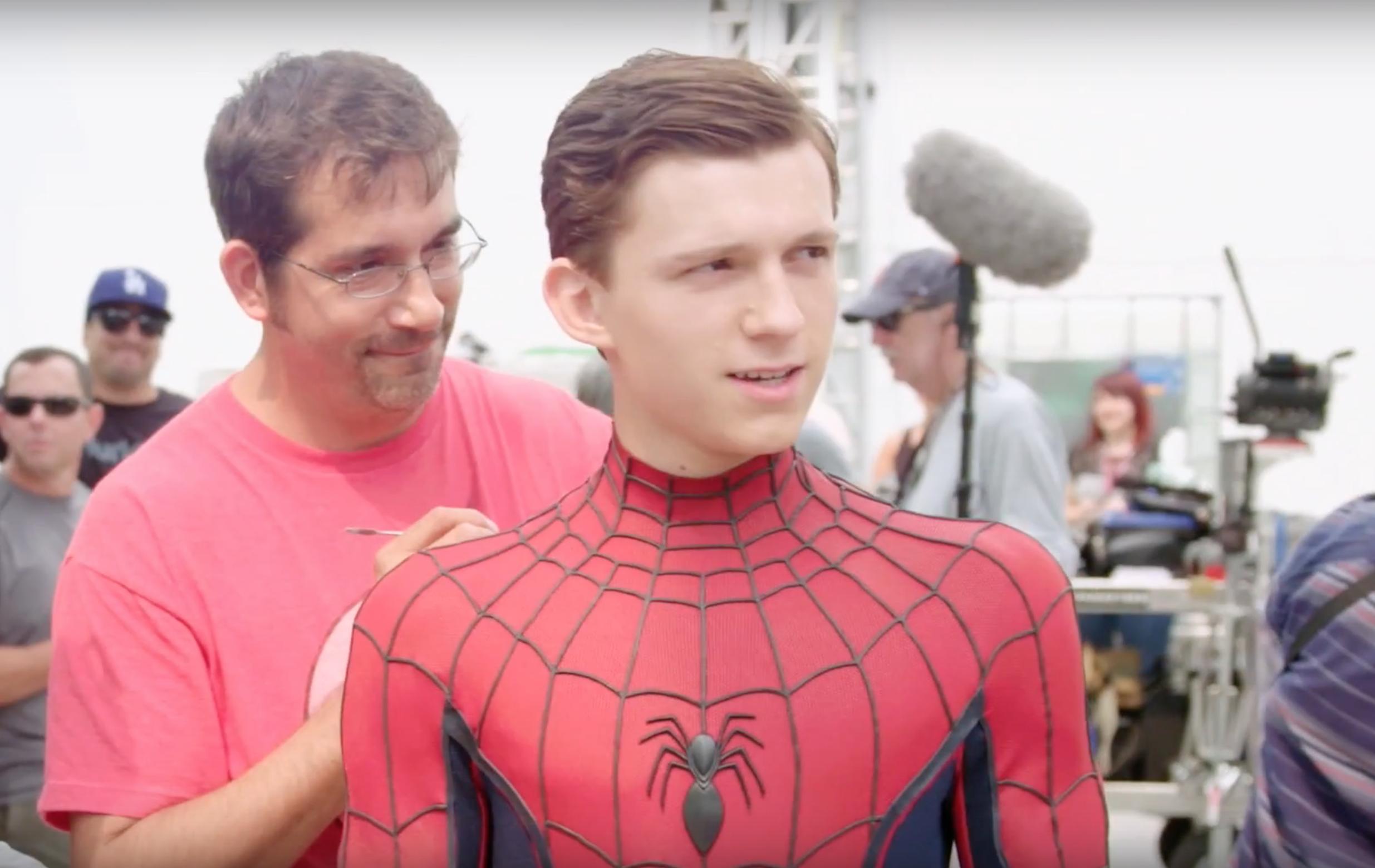 WATCH: Spider-Man Behind the Scenes 'Civil War' Video