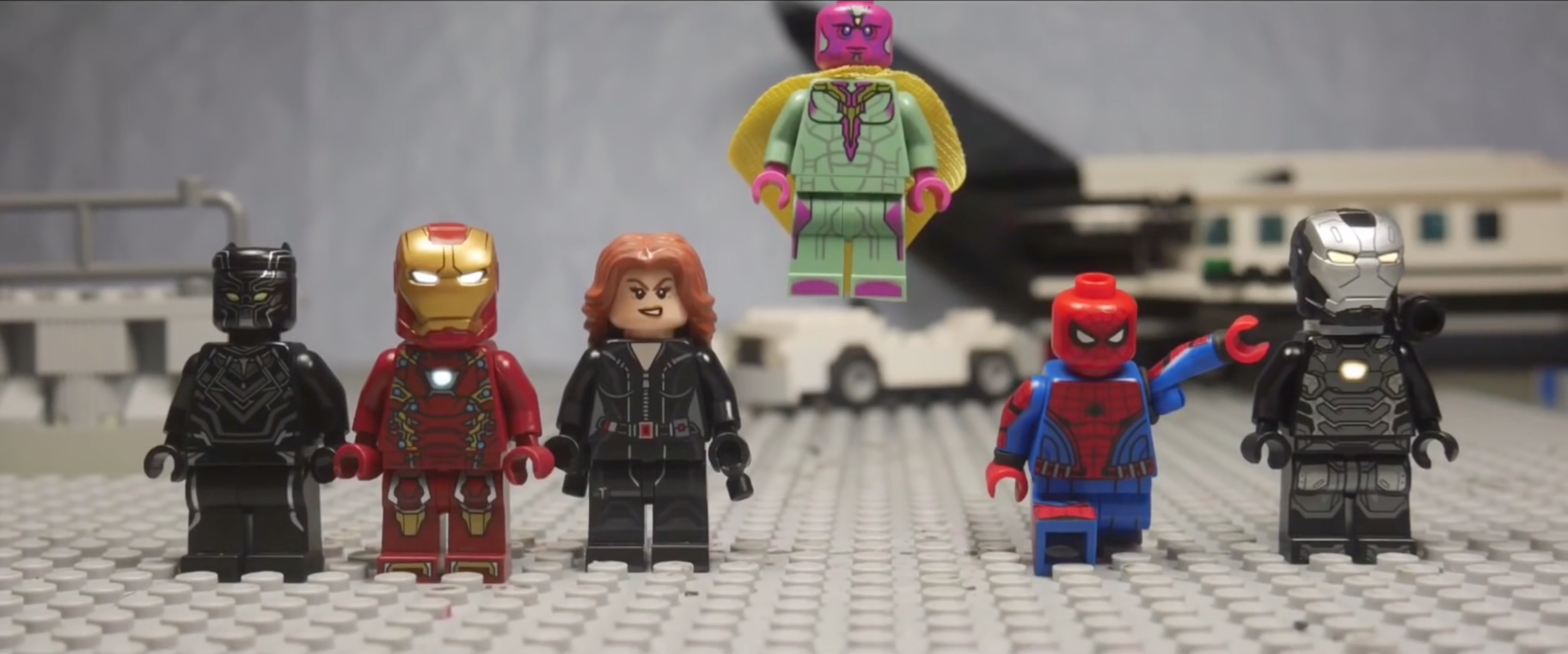 WATCH: 'Civil War' Airport Scene Recreated in LEGO