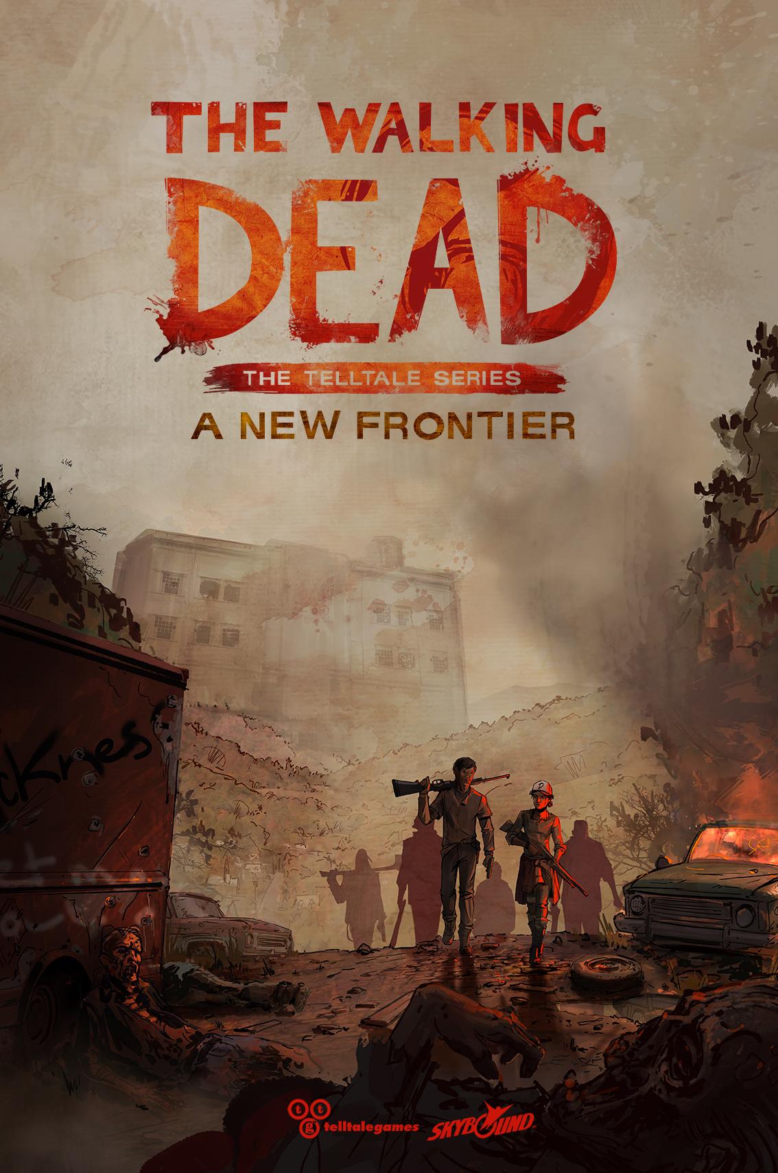 Telltale The Walking Dead Season 3 poster