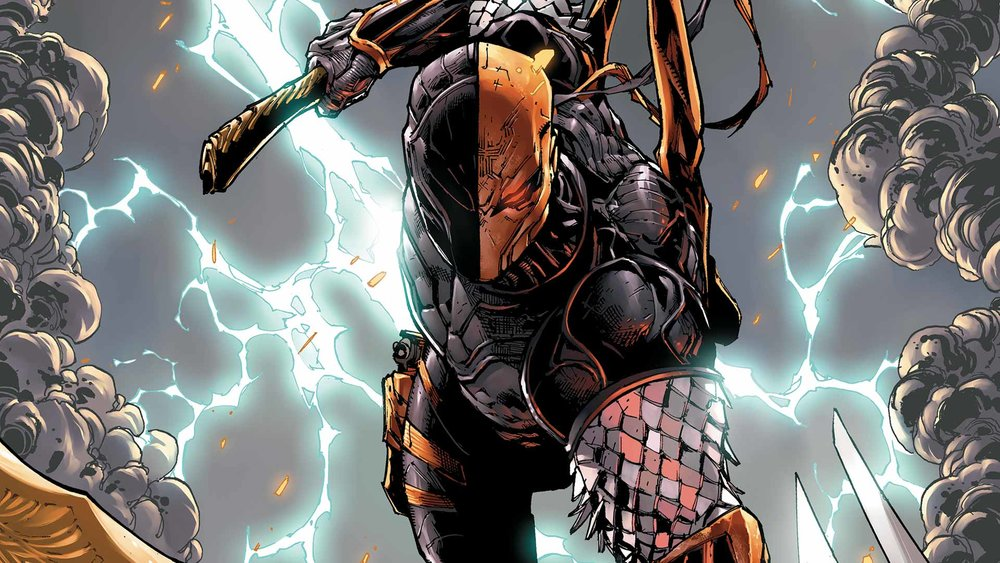 How Joe Manganiello is Researching for Deathstroke Role