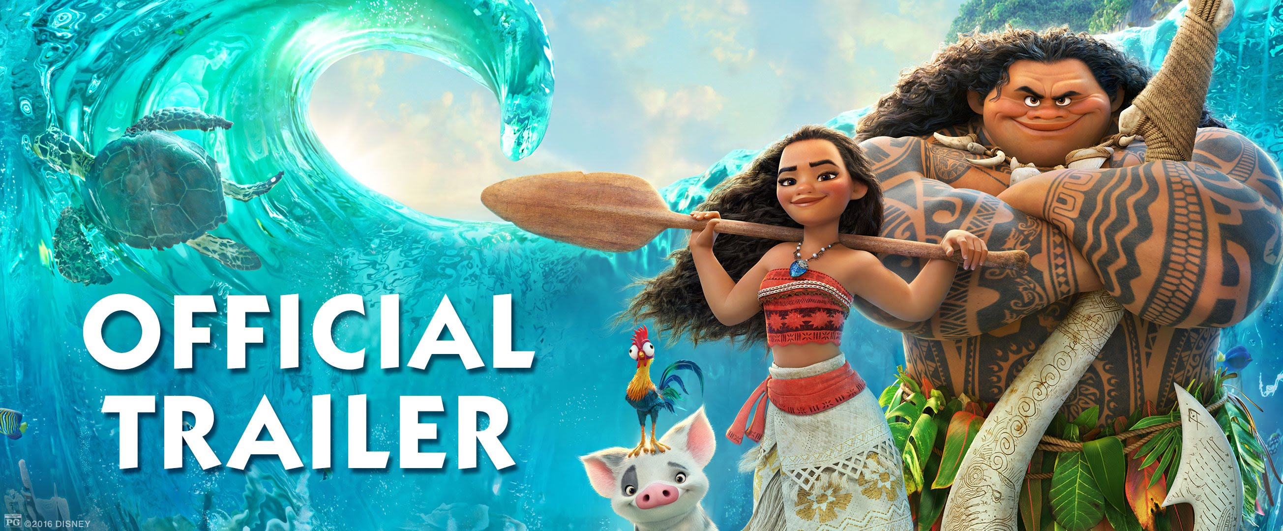 New 'Moana' Trailer Promises Adventure